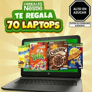 promocion vuelta a clases cereales nestle