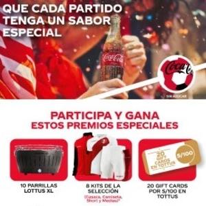 promocion coca cola tottus