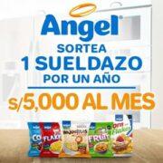 promocion cereales angel sorteo 5 mil soles mensuales por todo 1 año