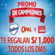 promo de campeones bolivar opal precio uno